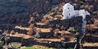 Chapelle pittoresque à Sifnos